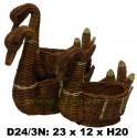 Лебеди набор 3 в 1 маленький D24/3N