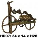 Кашпо из лиан- велосипед HD07-B