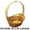 Корзинка овальная для цветов  TV1167D