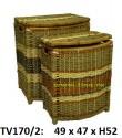 Бак  c крышкой набор 2в1 TV170/2