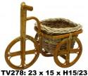 Велосипед ротанговый  TV278
