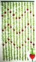 Шторы с листочками 90*165 см TV3004-11