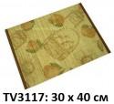 Салфетка  30 x 40 см с рисунком TV3117-A