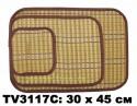 Салфетка из бамбука 30*45 см набор 3 в 1 TV3117C-10