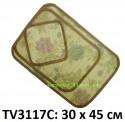 Салфетка из бамбука 30*45см набор 3в1 TV3117C-4