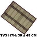 Салфетка из бамбука 30*45 см TV3117H-H (цена за 6 шт)