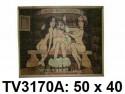 Панно бамбук с рисунком баня 50*40 см  TV3170A-3