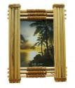 Рамка для фото из бамбука 9*13 см TV3201A-8