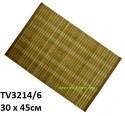 Салфетка из бамбука 30*45 см TV3214/6-C цена за набор 6 шт.