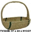 Корзинка (бело + зеленая) TV324B-X
