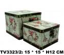 Шкатулка набор 2 в 1 TV3323/2-4