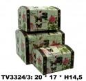 Шкатулка набор 3 в 1 TV3324/3-1