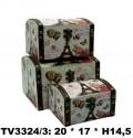 Шкатулка набор 3 в 1 TV3324/3-4
