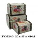 Шкатулка набор 3 в 1 TV3324/3-5