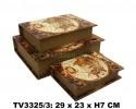 Шкатулка набор 3 в 1 TV3325/3-3