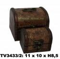 Шкатулки набор 2в1 TV3433/2-E