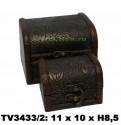 Шкатулки набор 2в1 TV3433/2-F