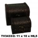 Шкатулки набор 2в1 TV3433/2-G