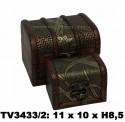 Шкатулки набор 2в1 TV3433/2-N