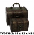 Шкатулки набор 2в1 TV3438/2-P