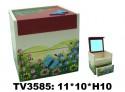Шкатулка с зеркалом TV3585-2 (цена за шт)