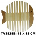 Подставка под горячее из бамбука 18 x 18 CM TV3828B