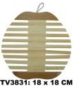 Подставка под горячее из бамбука 18 x 18 CM TV3831B
