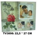 Рамка для фото TV3898-2 (цена за шт)